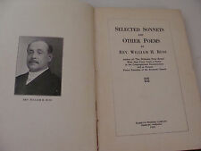 Selected Sonnets & Other Poems 1925 by Rev William H Buss
