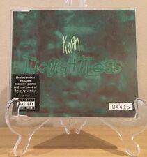 Korn - Thoughtless CD Single Nu Metal