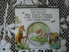 MAIL- PROMO DVD  FOR CHILDREN- BEATRIX POTTER  - MRS TIGGY WINKLE & MR J/FISHER