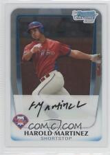 (15) 2011 11 Bowman Chrome Draft Harold Martinez Rookie Card Lot Phillies