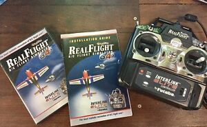 Real Flight G4.5 R/C Flight Simulator Complete Interlink Elite controller Futaba