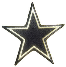 New NFL Dallas Cowboys Star Logo embroidered iron on patch. 3 x 3.25 inch (i178)