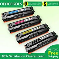 4PK Color CF510A Toner For HP 204A LaserJet Pro M154nw M180n M180nw M181fw MFP