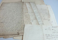 Convolute Documents 1833-1860 Over Family Schmidt IN Londorf (Lk Pour)
