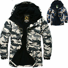 SOUTHPLAY Mens Ski Snowboard Jacket Jumper Parka Suits Blazer Tops CAMO MILITARY