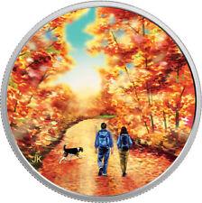 "2017 RCM ""NATURE WALK AT SUNRISE"" $15 FINE SILVER COIN"