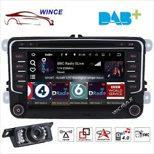 "VW Golf Jetta Passat Caddy 7""Car Radio Stereo DVD Player GPS Bluetooth Headunit"