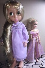 "Disney Store 16"" Animator 1st Edition Tinsel Hair Rapunzel & Disney Parks Dolls"