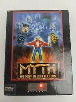 Myth - ZX Spectrum 48k Game - Original Cardboard Box / Manual / Cassette - 1989