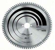 Bosch Optiline Wood Bench Saw Blade 250x3.2x30, 40t 2608640670