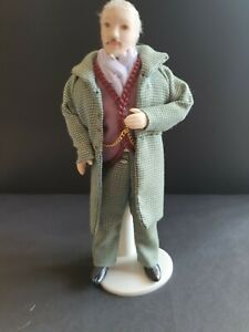 Dolls house miniatures victorian gentleman