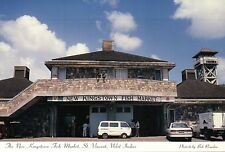 New Fish Market Kingstown St. Vincent & The Grenadines, Caribbean --- Postcard