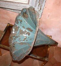 ANCIEN PAVILLON POUR GRAMOPHONE PHONOGRAPHE à restaurer *