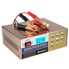 AUTO ELETTRICA Caricabatteria intelligente riparazione a impulsi tipo 12/24v output 100ah