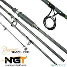 Travel canna da pesca 9ft Carbonio 4 pezzi NGT dinamica per carpa mare filatura
