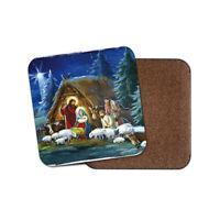 Nativity Scene Coaster - Christmas Religious Festive Cool Xmas Fun Gift #16504