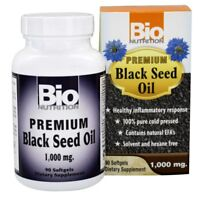 Bio Nutrition Premium Black Seed Oil 1000 mg 90 Capsules BioNutrition