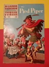 Rare Vintage The Pied Piper Comic No.504 Summer 1969 Classics Illustrated Junior