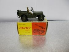french dinky  829 jeep 106sr gun carrier boxed 1964