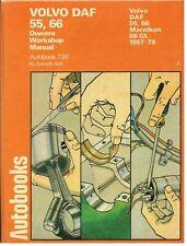 VOLVO / DAF 55 66 & 66-1300 ( INCL MARATHON ) 1967 - 1978 OWNERS WORKSHOP MANUAL