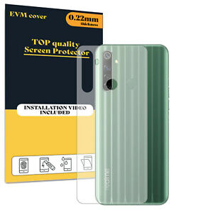 Back Protector Cover For Realme 6i TPU FILM - Clear