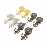 Crystal Tieback Hook Home Pothook Decorative Wall hanger W/ Screw European style