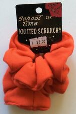 2 Pack Knitted Fabric Scrunchies In Choice of Colours