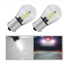 2 Ampoule LED BA15S P21 W COB BLANC 6000K pour Feux Avant Veilleuse AR lumière