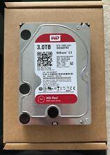 "3TB Western Digital WD WD30EFRX 3.5"" RED NAS SATA Hard Drive HDD 1"