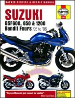 BANDIT SUZUKI SHOP MANUAL GSF600 GSF650 GSF1200 SERVICE REPAIR HAYNES BOOK