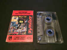 EXTREME GET THE FUNK OUT 2 BONUS TRACK MIXES AUSTRALIAN CASSETTE TAPE