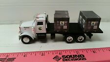1/64 CUSTOM ertl farm toy peterbilt channel seed straight truck w/ 4 probox Seed