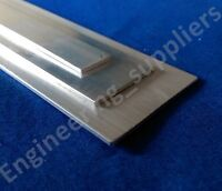 """Aluminium Flat Plate 1/2"""", 1"""" & 1 1/2"""" Wide, 1/16th Thick, 50mm - 600mm long"""