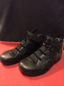 Rare 2006 Vintage Nike Zoom Lebron IV 4 Black Anthracite 314647-001 Shoes Men 8
