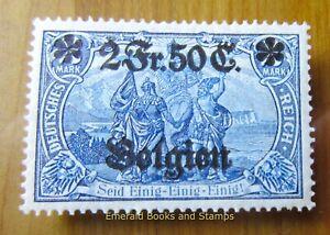 EBS Germany 1914 - World War I - Occupied Belgium - Michel 9 MH* (904