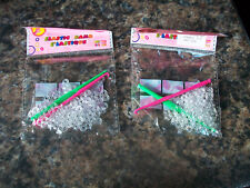 2 packs loom band s clips and hooks clear total aprox 120 clips & 4 tools