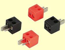 ACV 30.4150-01 Lautsprecher DIN-Stecker 2,5mm² vergoldet  2xrot  2x schwarz  #BP