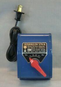 Marklin 278 A Transformer - 110v 50 P/s 16 VA - Works