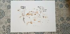 Pete Doherty Signed Blood Print Bloodworks Brick Lane Libertines Babyshambles