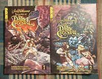 Jim Henson's Legends of the Dark Crystal Vol.1 2 Manga Graphic Novel *OOP* NEW!