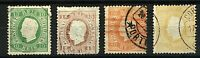 Portugal 1870 King Luis range of perforate issues with straight value lab Stamps