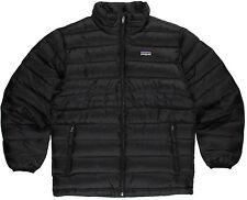 Patagonia Down Sweater Jacket Boys Black M Medium 10 New with Tags $119