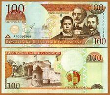 Dominican Republic, 100 Pesos Oro, 2002, P-175, UNC > Commemorative