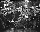 New 8x10 World War I Photo: Wounded German Prisoners Receiving Medical Treatment