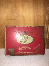 """VINTAGE Craven """"A"""" Virginia Tobacco TIN."""