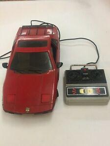 Vintage 1985 New Bright Pontiac Fiero Remote Control RC Car Toy Red