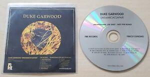 DUKE GARWOOD Dreamboatsafari 2011 UK 13-track promo CD