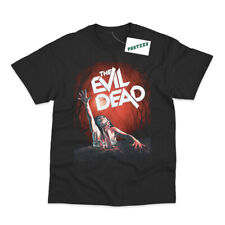 Retro The Evil Dead Inspired Movie Poster Direct To Garment Printed T-Shirt
