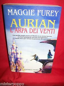MAGGIE FUREY Aurian L'arpa dei venti 1998 Fantacollana Nord Prima Edizione