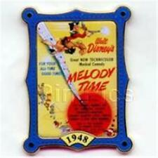 12 MONTHS OF MAGIC- MOVIE POSTER MELODY TIME Disney PIN 10342